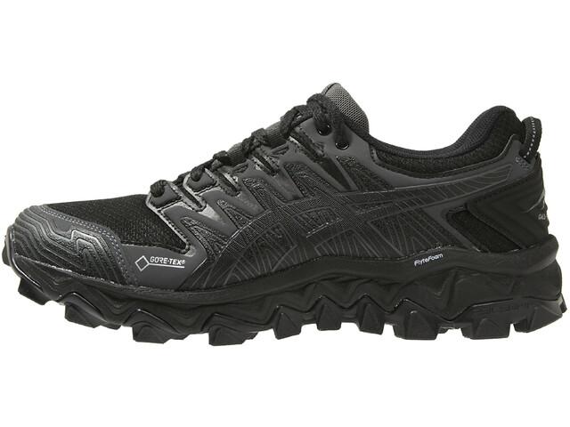 3f877c70f42 ... Trail Running Shoes; asics Gel-FujiTrabuco 7 G-TX Shoes Women black/dark  grey. asics ...